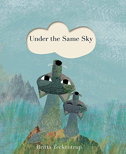 Under the Same Sky book by Britta Teckentrup