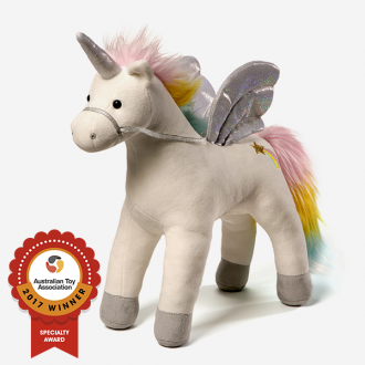Gund - Magical Light And Sound Unicorn