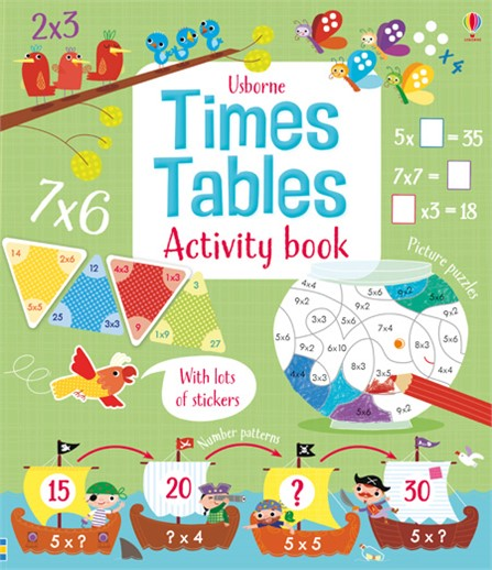 Usborne - Time Tables Activity Book