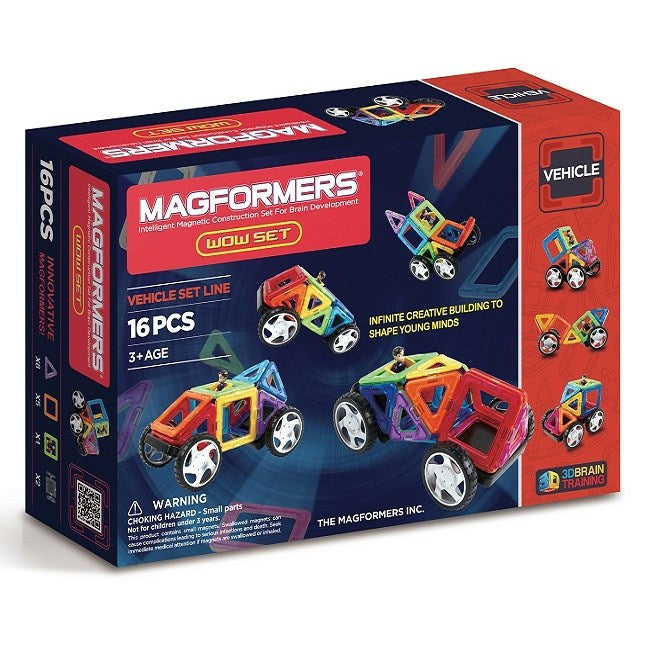 Magformers - Vehicle Wow Set 16pc