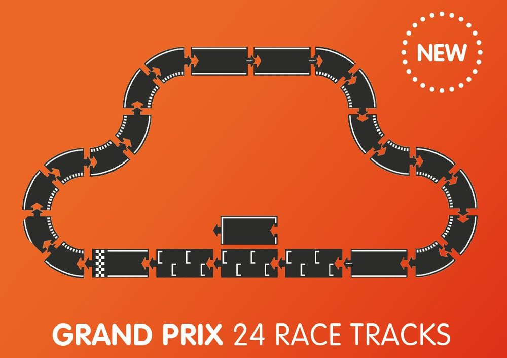 Waytoplay Grand Prix Set 24 Pieces - new in 2019