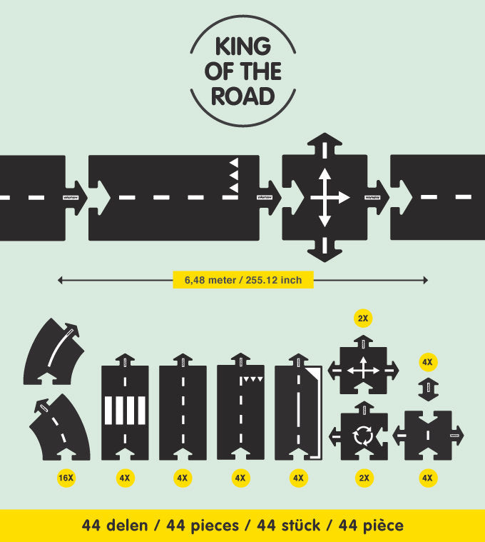 Waytoplay King of the Road set