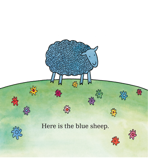 Where is the Green Sheep Board Book
