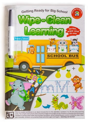 Learning Can Be Fun Wipe-Clean Learning Getting Ready for Big School book