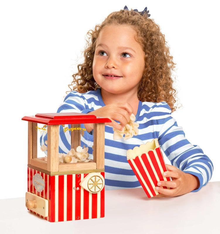 Le Toy Van Honeybake Wooden Popcorn Machine