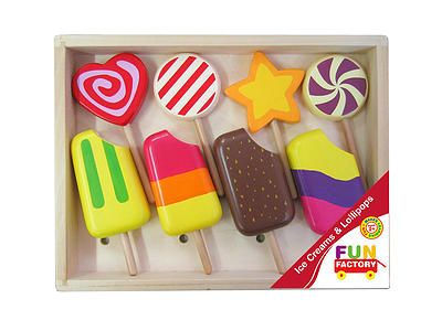 Fun Factory - Ice Blocks and Lollipops