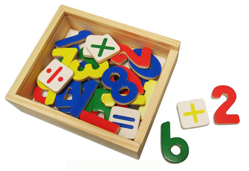 Melissa And Doug - Magnetic Wood Numbers