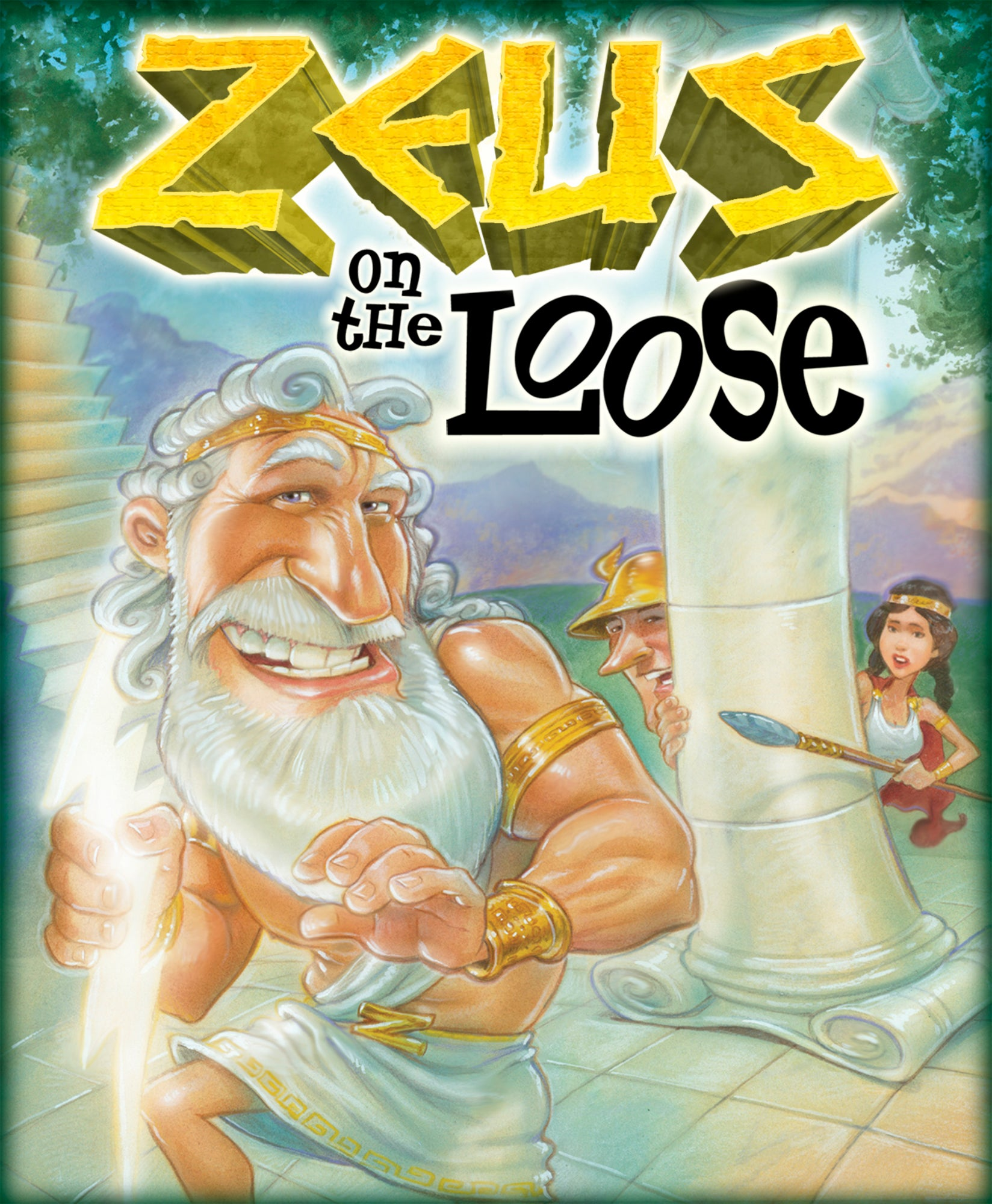 Gamewright Zeus on the Loose Card Game
