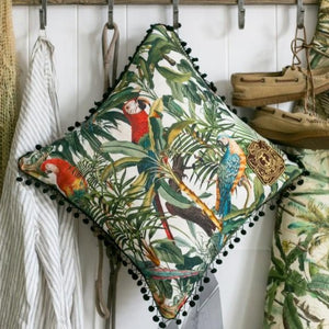 Parrots of Brazil Cushion