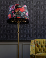 Load image into Gallery viewer, Fringed Lampshade | Flowers of the Lady
