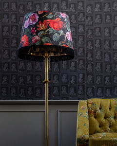 Fringed Lampshade | Flowers of the Lady