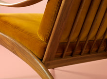 Load image into Gallery viewer, Lean Back Chair Teak Amber | Coffee Brown