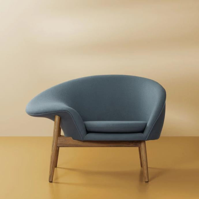 Fried Egg Lounge Chair Petrol