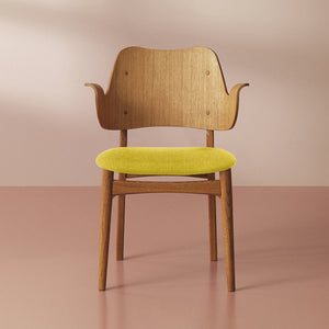 Gesture Chair Teak Oiled Oak Yellow