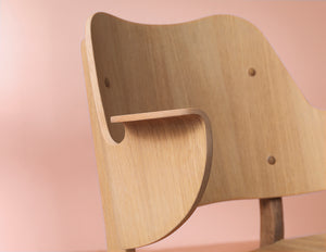 Gesture Chair Oiled Oak
