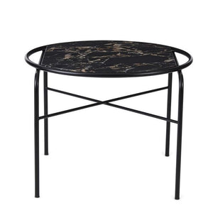 Secant Circle Coffee Table Black