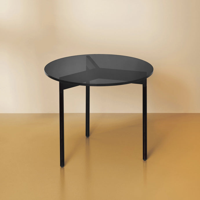 From Above Side Table Black