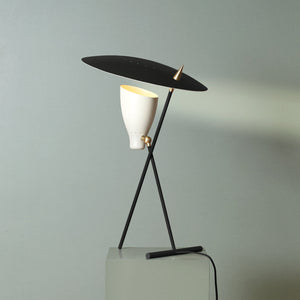 Silhouette Table Lamp Black