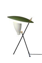Load image into Gallery viewer, Silhouette Table Lamp Pine Green