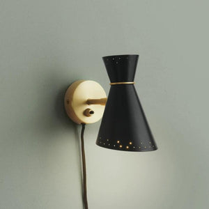 Bloom Black Wall Lamp