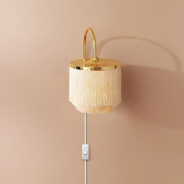 Fringe Wall Lamp Warm White