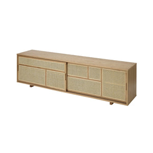 Air Low Sideboard Oak