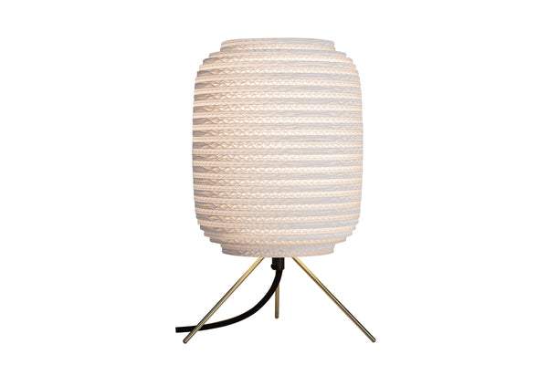 Scraplights | White Ausi Table Lamp
