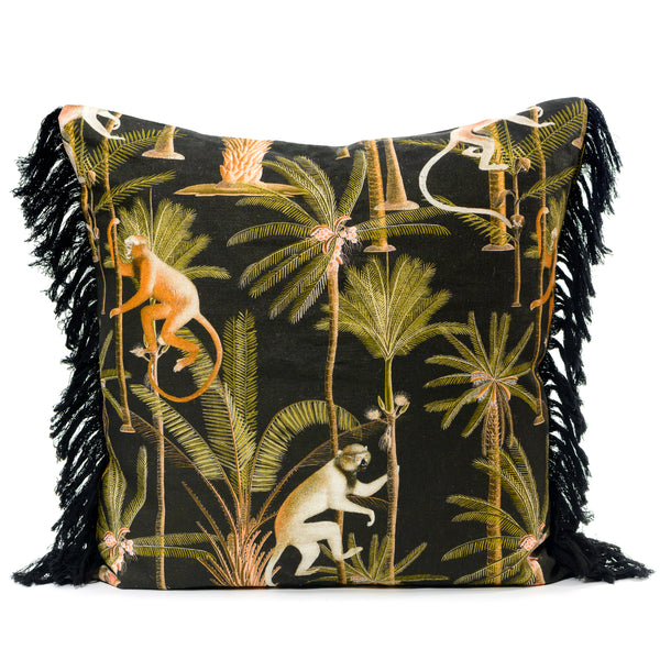 Barbados Anthracite Cushion
