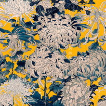 Load image into Gallery viewer, Chrysanthemums Yellow Wallpaper