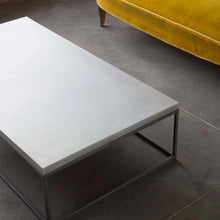 Load image into Gallery viewer, Perspective Concrete Rectangular Coffee Table