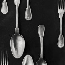 Load image into Gallery viewer, Cutlery Silver Wallpaper