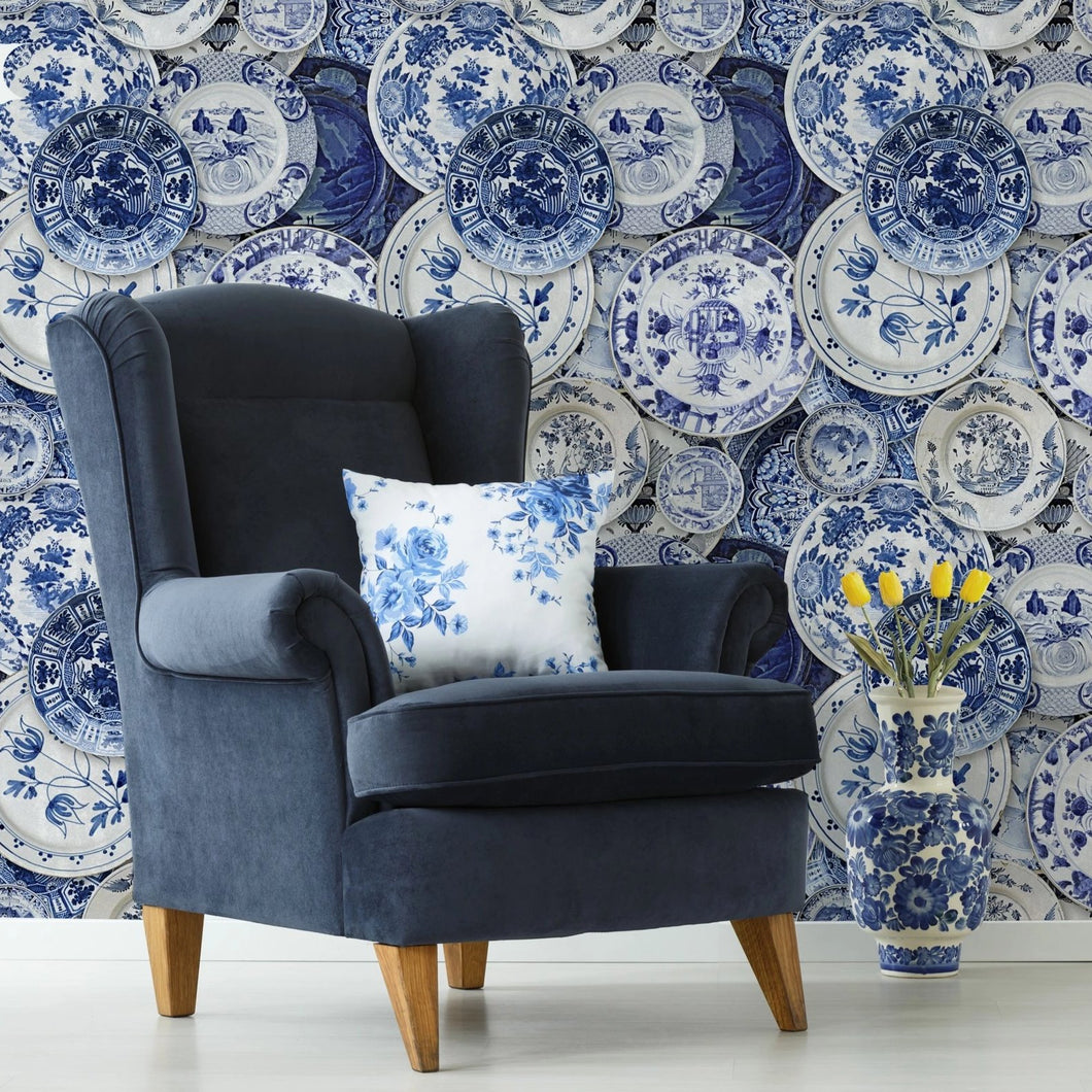 Delftware Wallpaper
