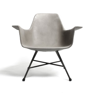 Hauteville Low Concrete Armchair
