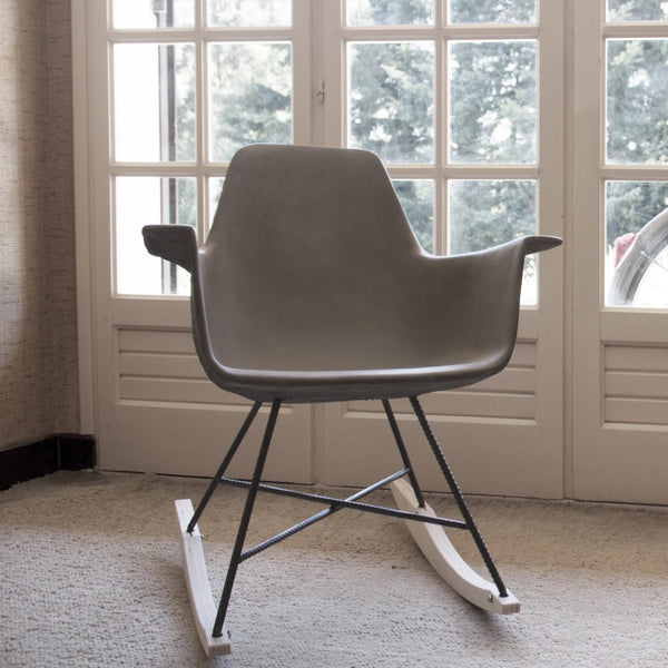 Hauteville Concrete Rocking Chair
