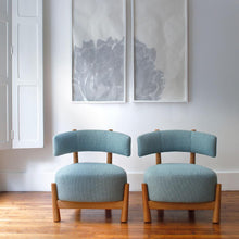 Load image into Gallery viewer, Dalya Armchair | Blue