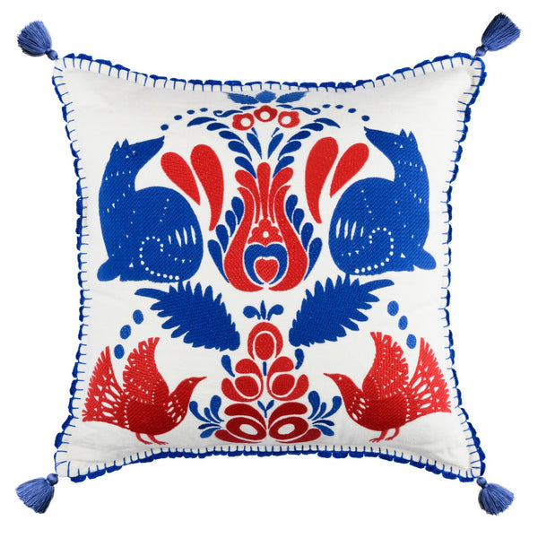 Folk Embroidery Cushion
