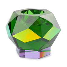 Load image into Gallery viewer, Glam Tea Light Holder Green
