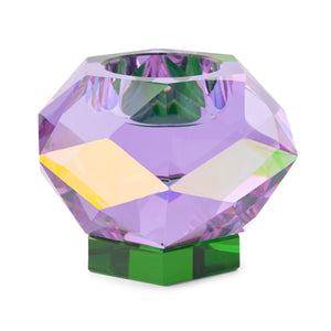 Glam Tea Light Holder Purple