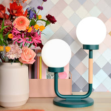 Load image into Gallery viewer, Little Darling Table Lamp | Forest Green