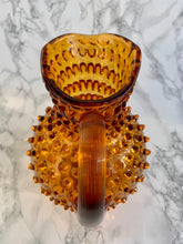 Load image into Gallery viewer, Hobnail Glass Jug | Amber