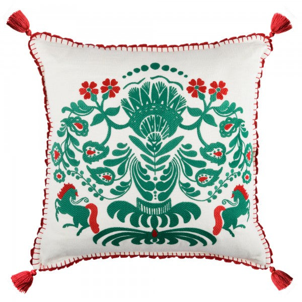 Horse Parade Cushion
