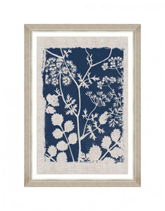 Framed Wall Art | Linocut Florals II