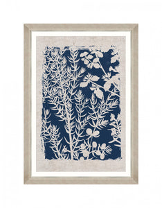 Framed Wall Art | Linocut Florals I