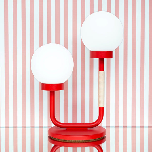 Little Darling Table Lamp | Strawberry Red