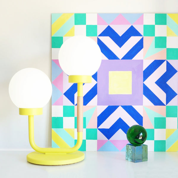Little Darling Table Lamp | Sunshine Yellow