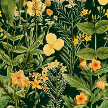 Load image into Gallery viewer, Mimulus Anthracite Wallpaper