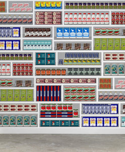Supermarket Wallpaper