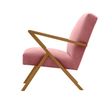 Load image into Gallery viewer, Retrostar Velvet Chair | Light Rose