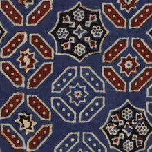 Load image into Gallery viewer, Ajrak Blue Wallpaper