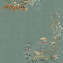 Load image into Gallery viewer, Chinoiserie Blue Wallpaper